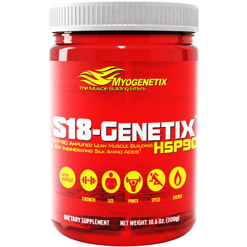 HSP-90 Amplified Lean Muscle Building & Fat Incinerating Silk Amino Acids