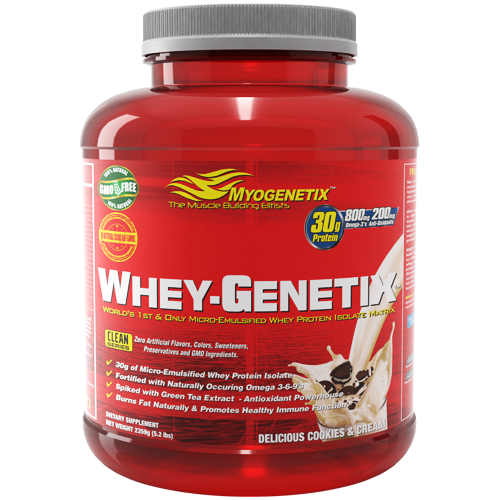 All Natural, High Fraction, Muscle Building & Fat Loss Whey Protein Formula